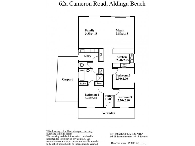 62A Cameron Road, Aldinga Beach SA 5173 Floorplan