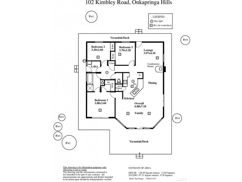102 Kimbley Road, Onkaparinga Hills SA 5163 Floorplan