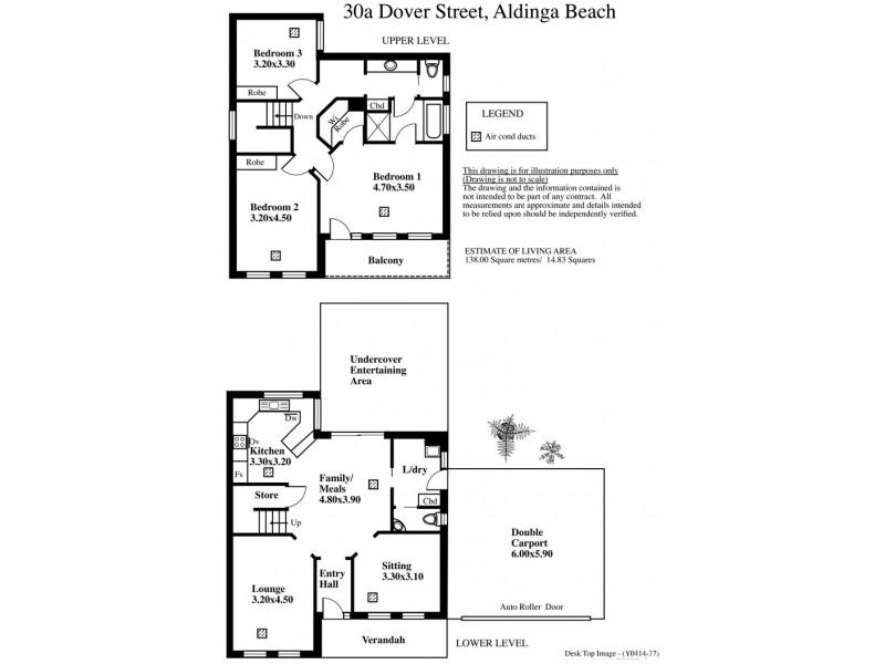 30A Dover Street, Aldinga Beach SA 5173 Floorplan