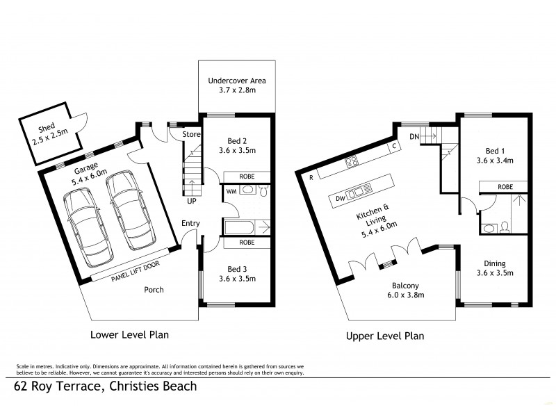 62 Roy Terrace, Christies Beach SA 5165 Floorplan