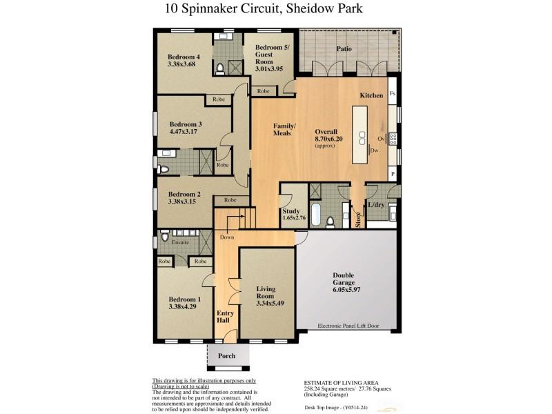 Lot 1- 10 Spinnaker Circuit, Sheidow Park SA 5158 Floorplan