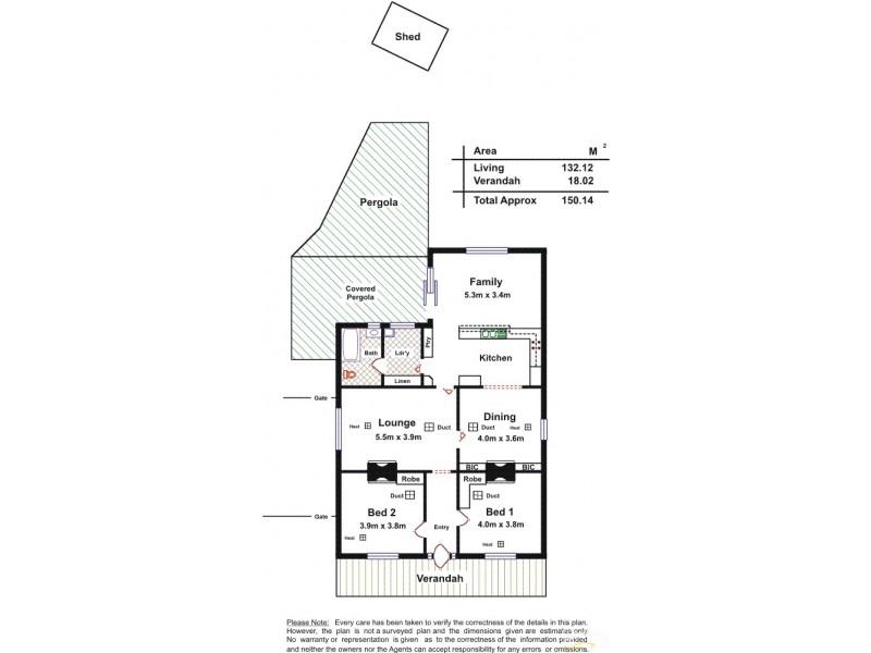 61 Victoria Road, Birkenhead SA 5015 Floorplan