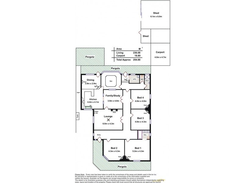 10 Musgrave Street, Largs Bay SA 5016 Floorplan