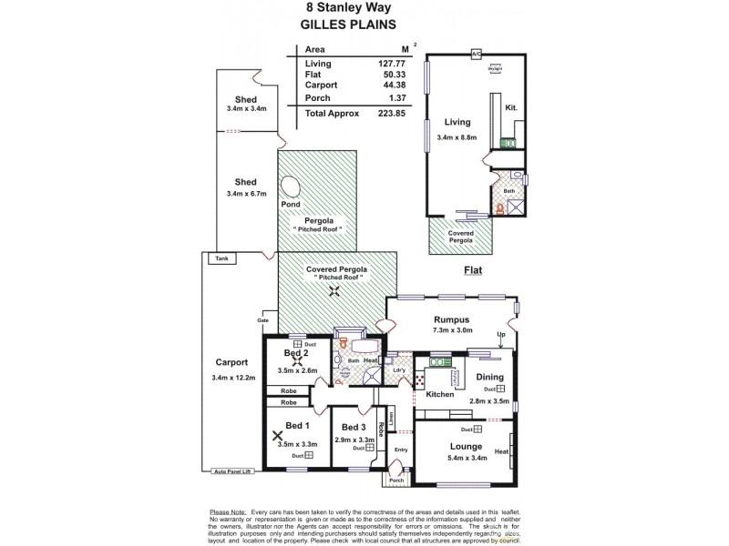 8 Stanley Way, Gilles Plains SA 5086 Floorplan