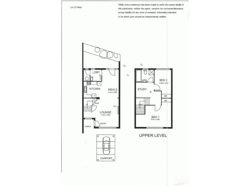 4/12 West Street, Hectorville SA 5073 Floorplan