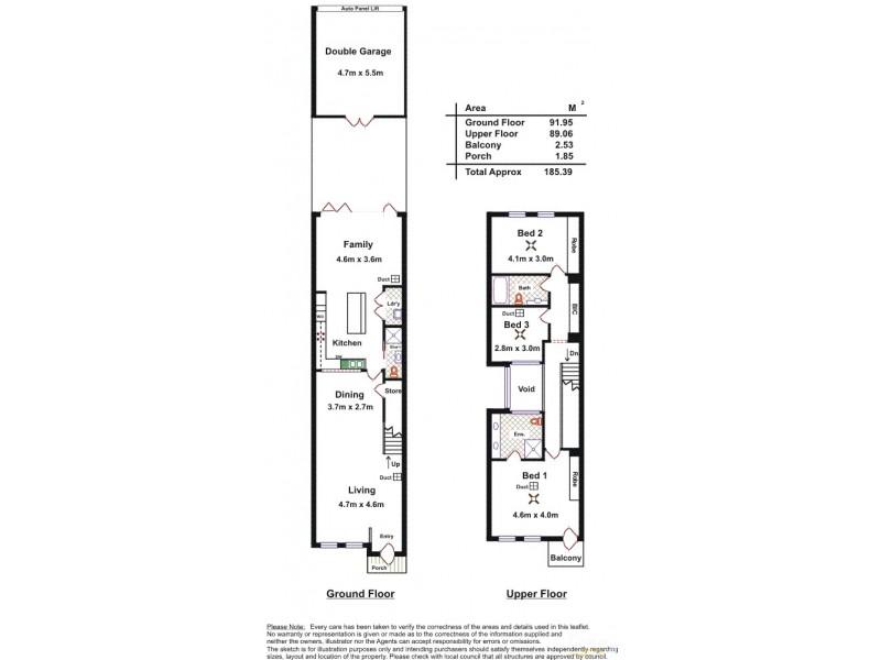 3/371-375 Angas Street, Adelaide SA 5000 Floorplan