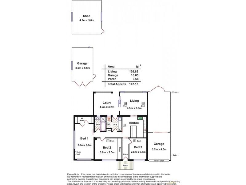 19 Capper Street, Camden Park SA 5038 Floorplan