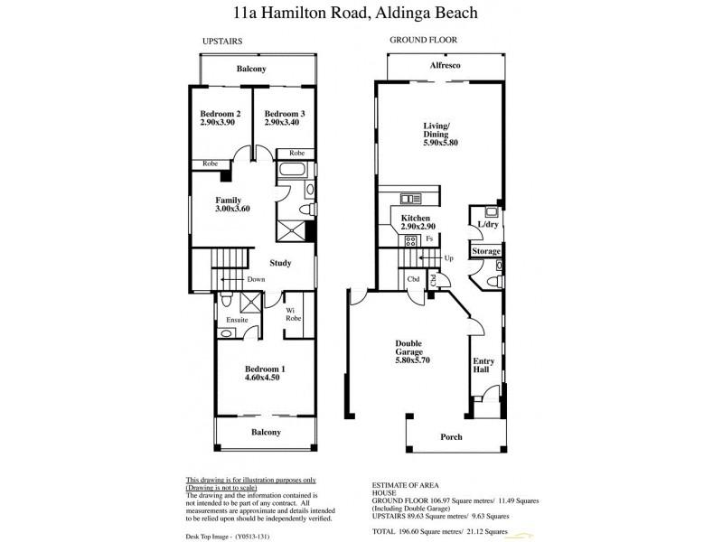 11 Hamilton Road, Aldinga Beach SA 5173 Floorplan