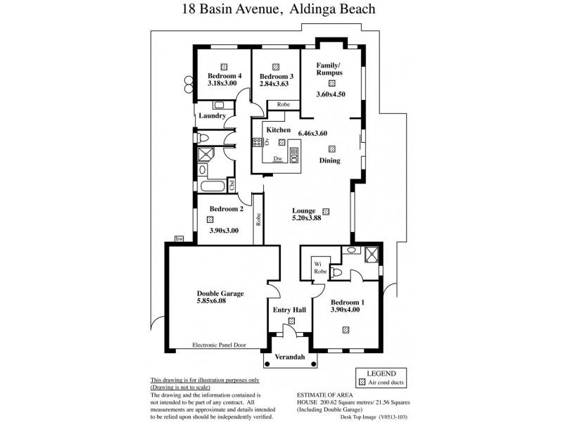 18 Basin Street, Aldinga Beach SA 5173 Floorplan