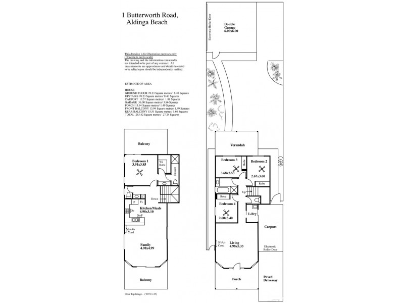 1 Butterworth Road, Aldinga Beach SA 5173 Floorplan