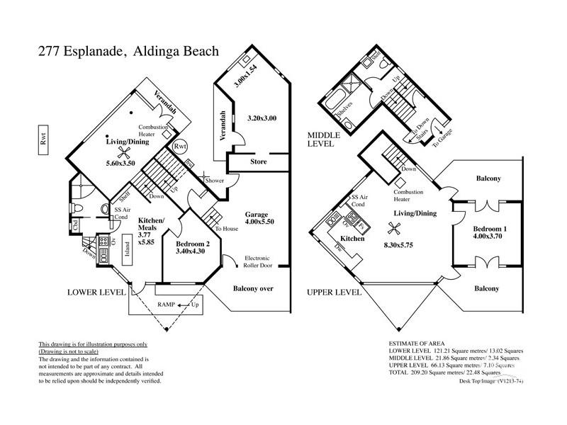 277 Esplanade, Aldinga Beach SA 5173 Floorplan