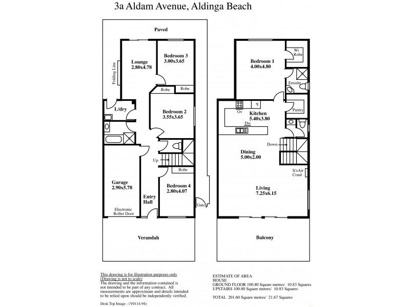 3a Aldam Avenue, Aldinga Beach SA 5173 Floorplan