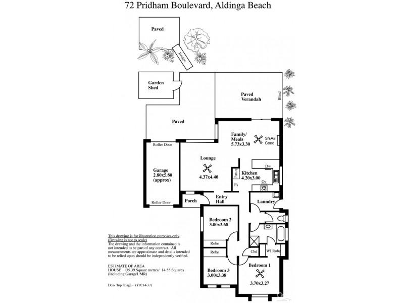 72 Pridham Bouelvard, Aldinga Beach SA 5173 Floorplan