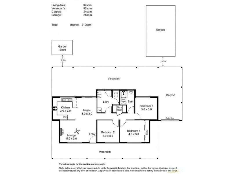 41 Oakley Crescent, Aldinga Beach SA 5173 Floorplan
