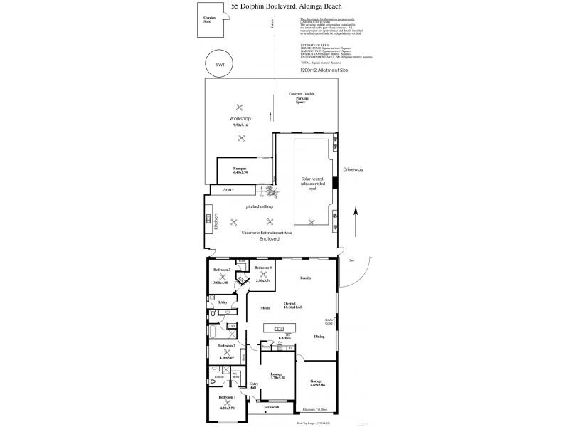 55 Dolphin Boulevard, Aldinga Beach SA 5173 Floorplan