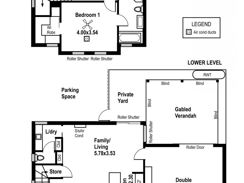 2 Whinnerah Avenue, Aldinga Beach SA 5173 Floorplan