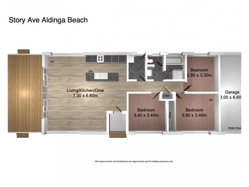 16 A  Storey Avenue, Aldinga Beach SA 5173 Floorplan