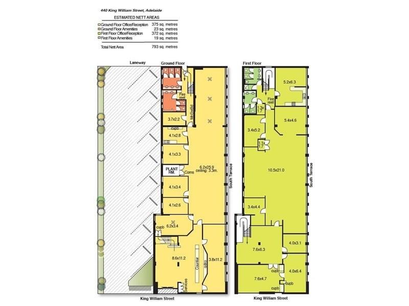 440 King William Road, Adelaide SA 5000 Floorplan