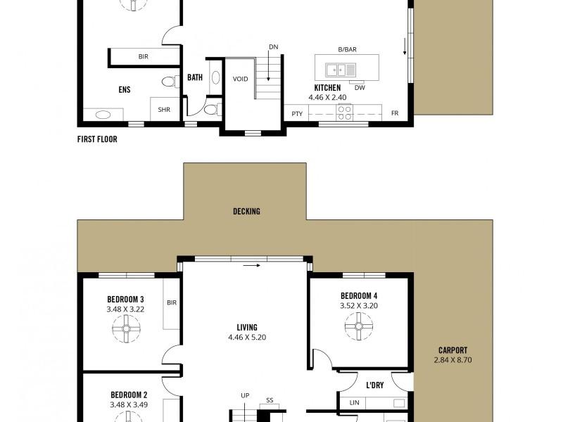 2  Westcliff Court, Marino SA 5049 Floorplan