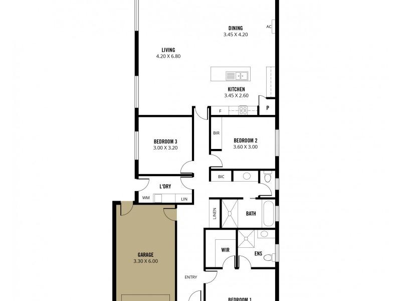 39 Pine Drive, Aberfoyle Park SA 5159 Floorplan