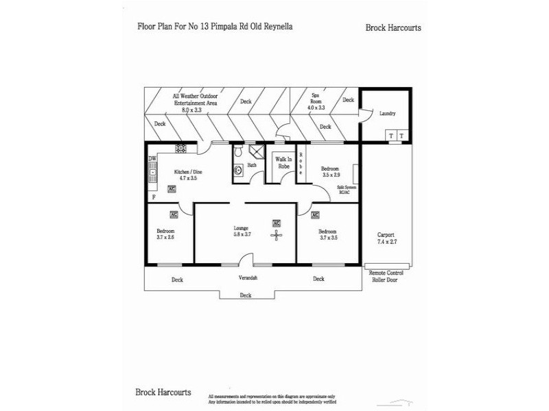 13 Pimpala Road, Old Reynella SA 5161 Floorplan
