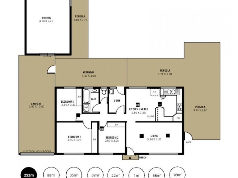 14 Alcatraz Street, Aberfoyle Park SA 5159 Floorplan