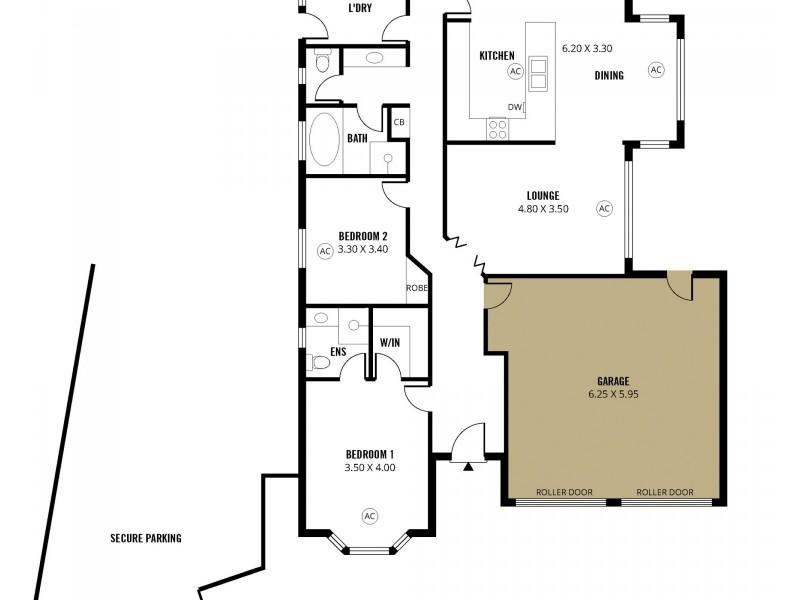 56 Jade Loop, Aldinga Beach SA 5173 Floorplan
