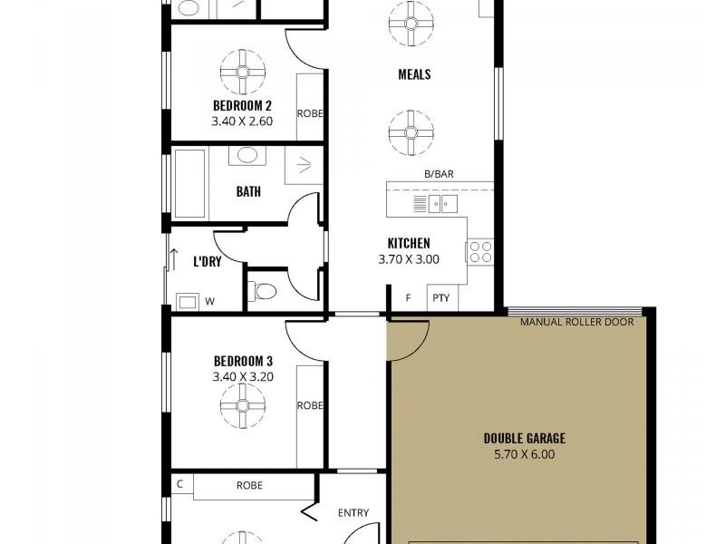 32 Halcyon Circuit, Aldinga Beach SA 5173 Floorplan