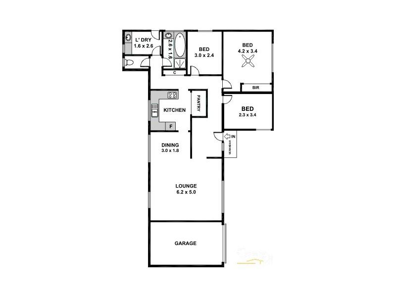Unit 6/2 Inman Place, Salisbury SA 5108 Floorplan