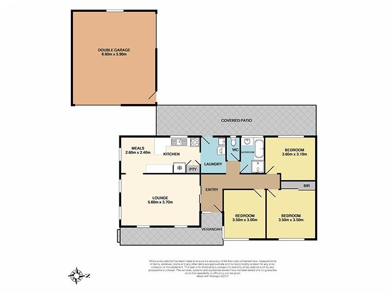28 Bushland Avenue, Clarinda VIC 3169 Floorplan