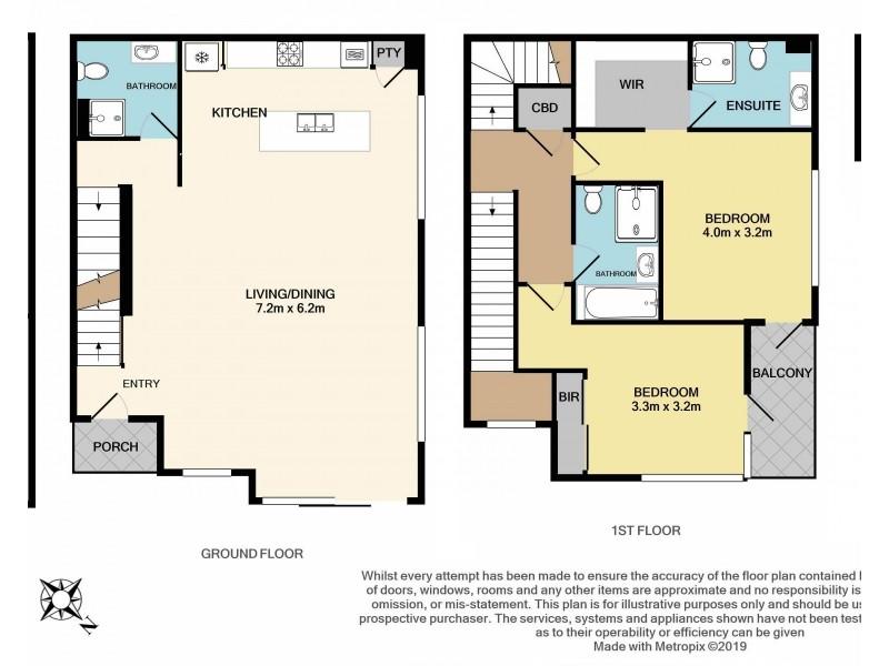 1/3 Claire Street, Mckinnon VIC 3204 Floorplan