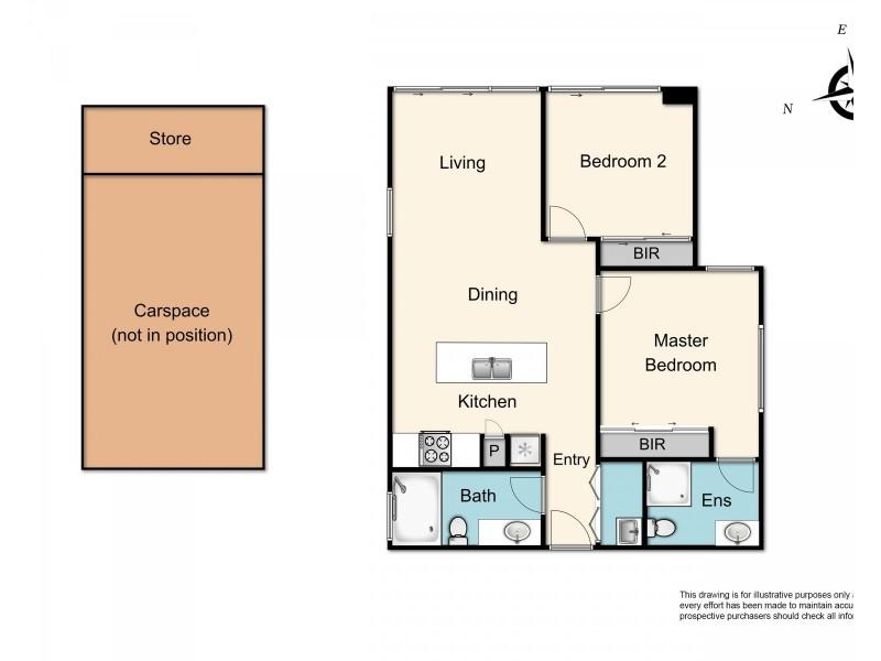 G01/77 Mitchell Street, Bentleigh VIC 3204 Floorplan