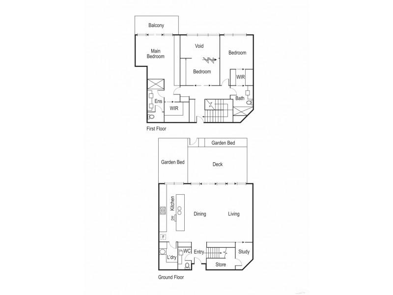 31/15 Beach Road, Hampton VIC 3188 Floorplan