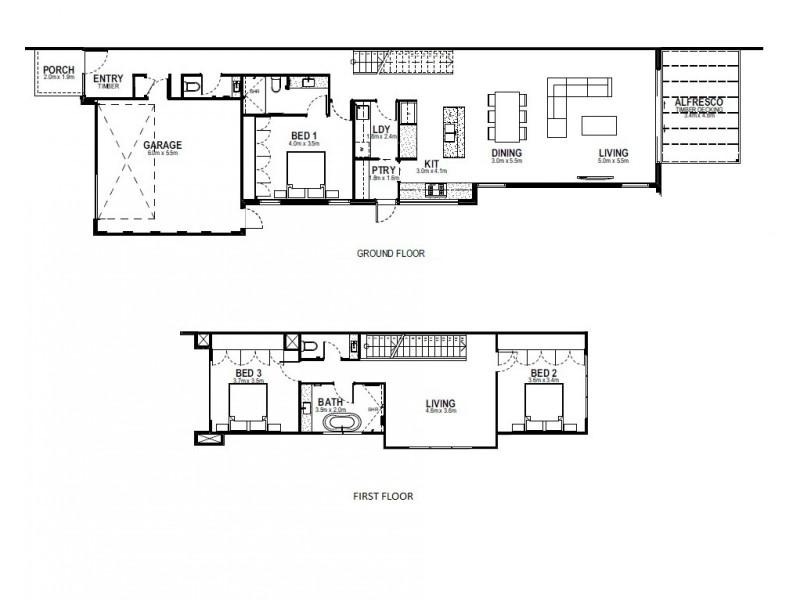 23B Hastings Avenue, Beaumaris VIC 3193 Floorplan