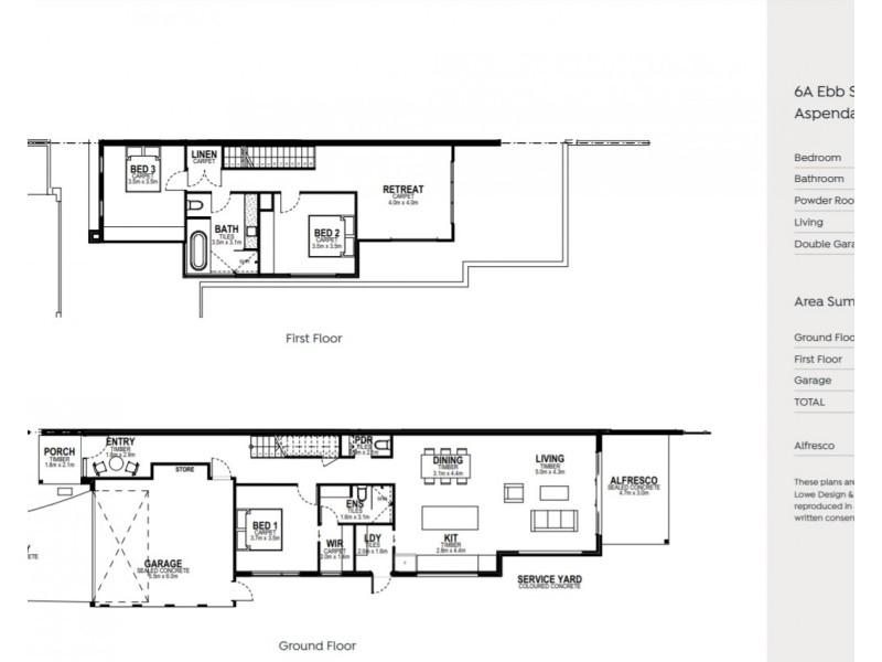 6a  Ebb Street, Aspendale VIC 3195 Floorplan