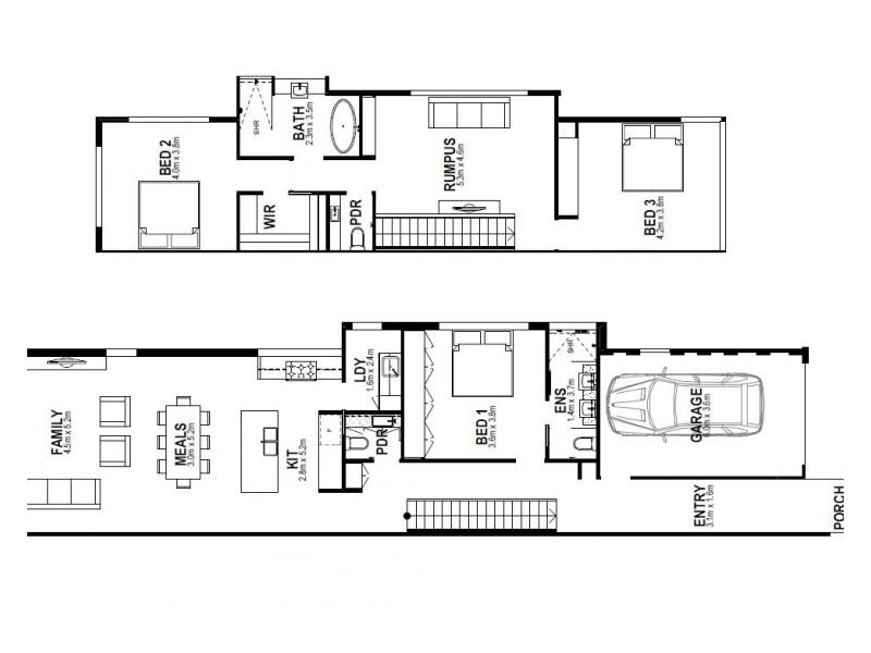 18B Surf Avenue, Beaumaris VIC 3193 Floorplan