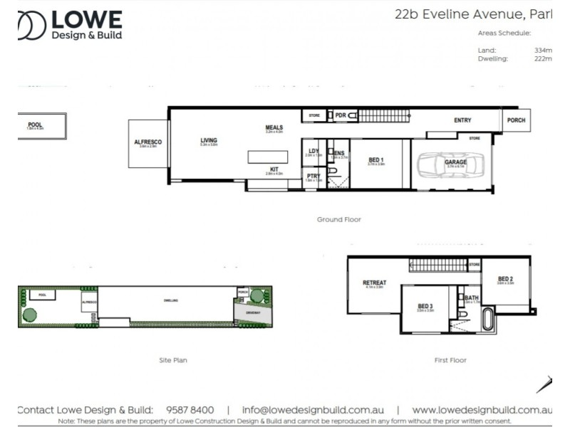 22b Eveline Avenue, Parkdale VIC 3195 Floorplan