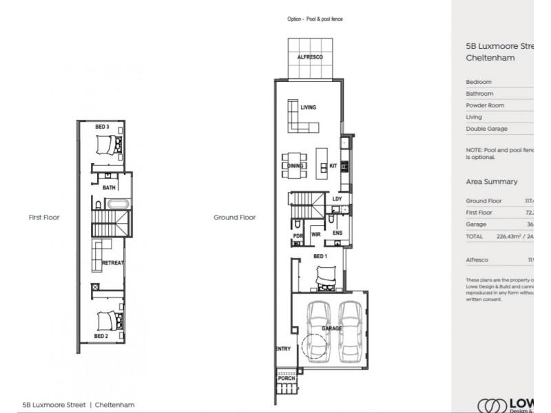 5b Luxmoore Street, Cheltenham VIC 3192 Floorplan