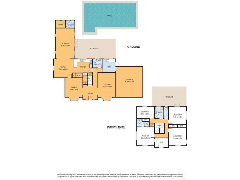 13 Gannet Street, Mount Eliza VIC 3930 Floorplan