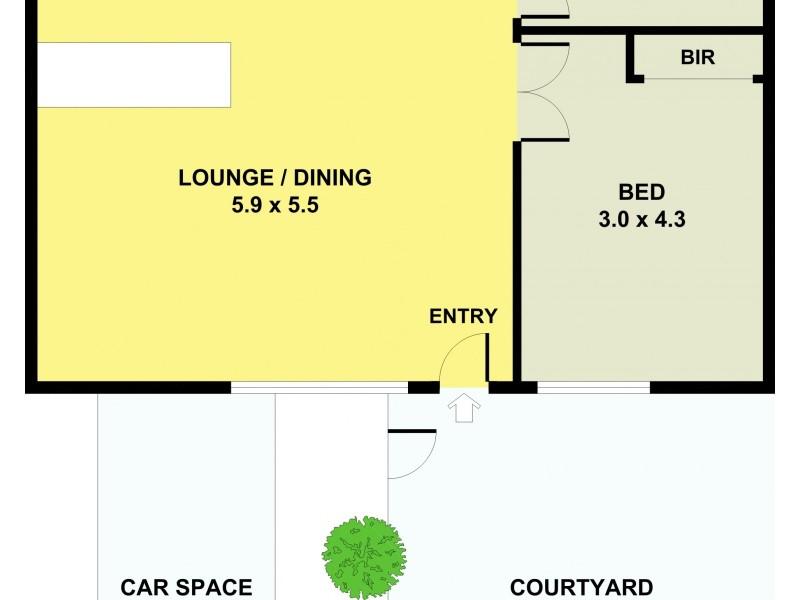 4/57  Clow Street, Dandenong VIC 3175 Floorplan
