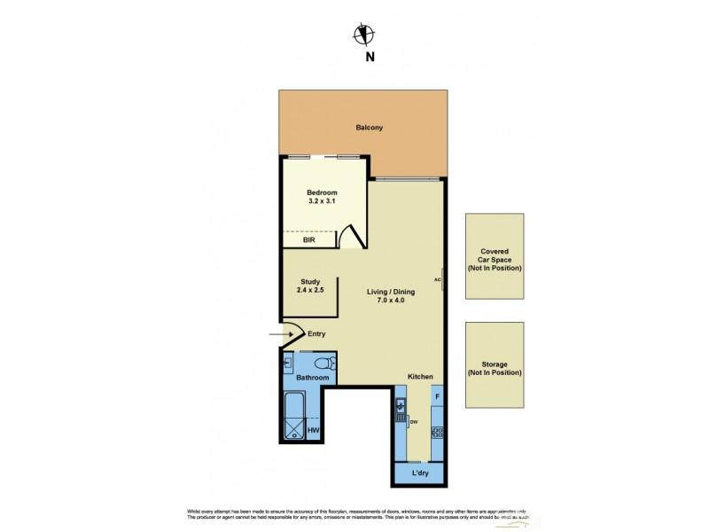 105/117 Pier Street, Altona VIC 3018 Floorplan