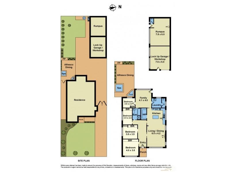 49 Romawi Street, Altona VIC 3018 Floorplan
