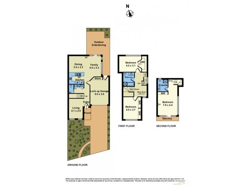 161 Queen Street, Altona VIC 3018 Floorplan