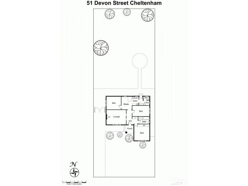 51 Devon Street, Cheltenham VIC 3192 Floorplan