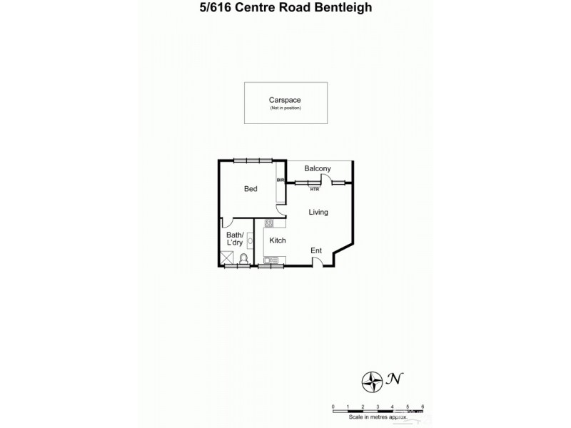 5/616-618 Centre Road, Bentleigh VIC 3204 Floorplan