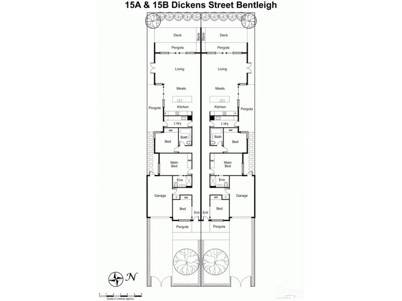 1/15 Dickens Street, Bentleigh VIC 3204 Floorplan