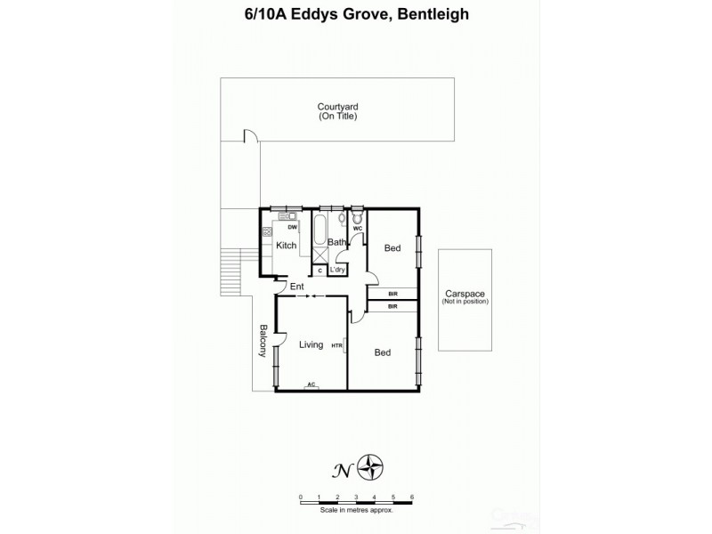 6/10A Eddys Grove, Bentleigh VIC 3204 Floorplan