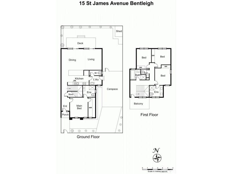 15 St James Avenue, Bentleigh VIC 3204 Floorplan