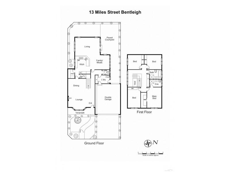 13 Miles Street, Bentleigh VIC 3204 Floorplan