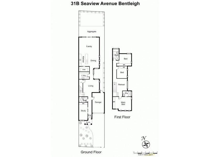 31B Seaview Avenue, Bentleigh VIC 3204 Floorplan